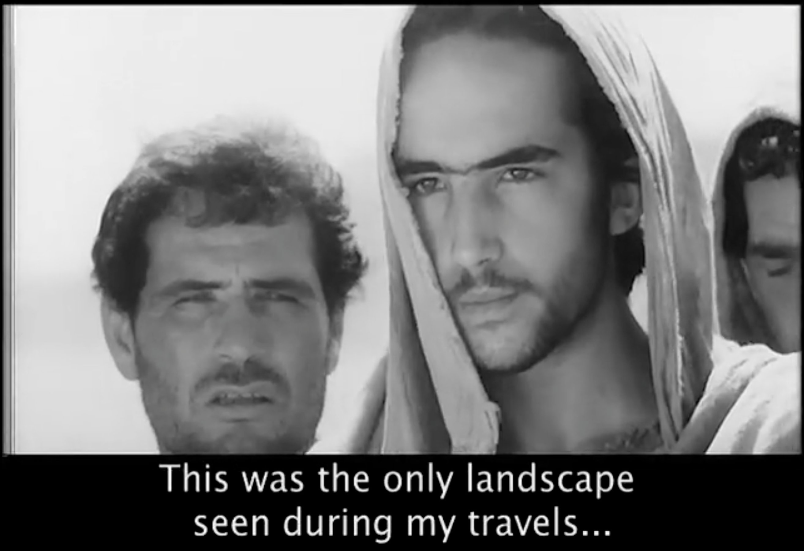 This is Jerusalem Mr. Pasolini