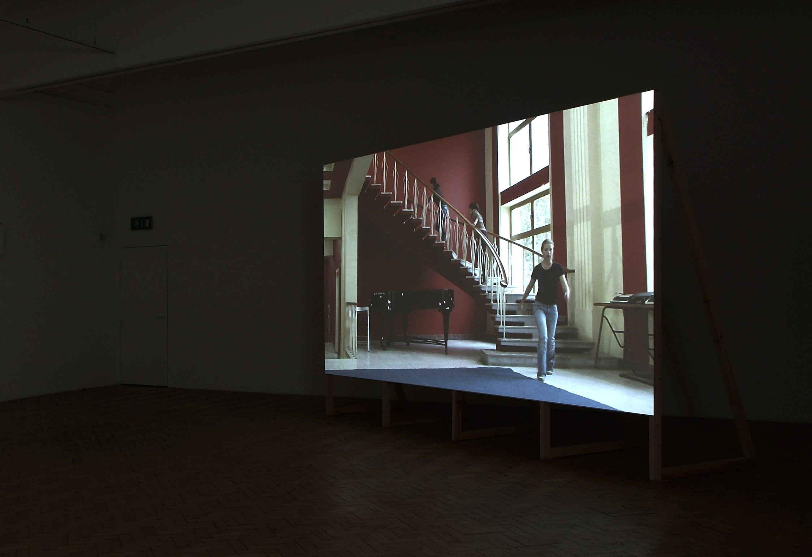 I'm Lost Without Your Rhythm, 2009, HD, 13'29'', loop, installation view, Camden Art Center, London