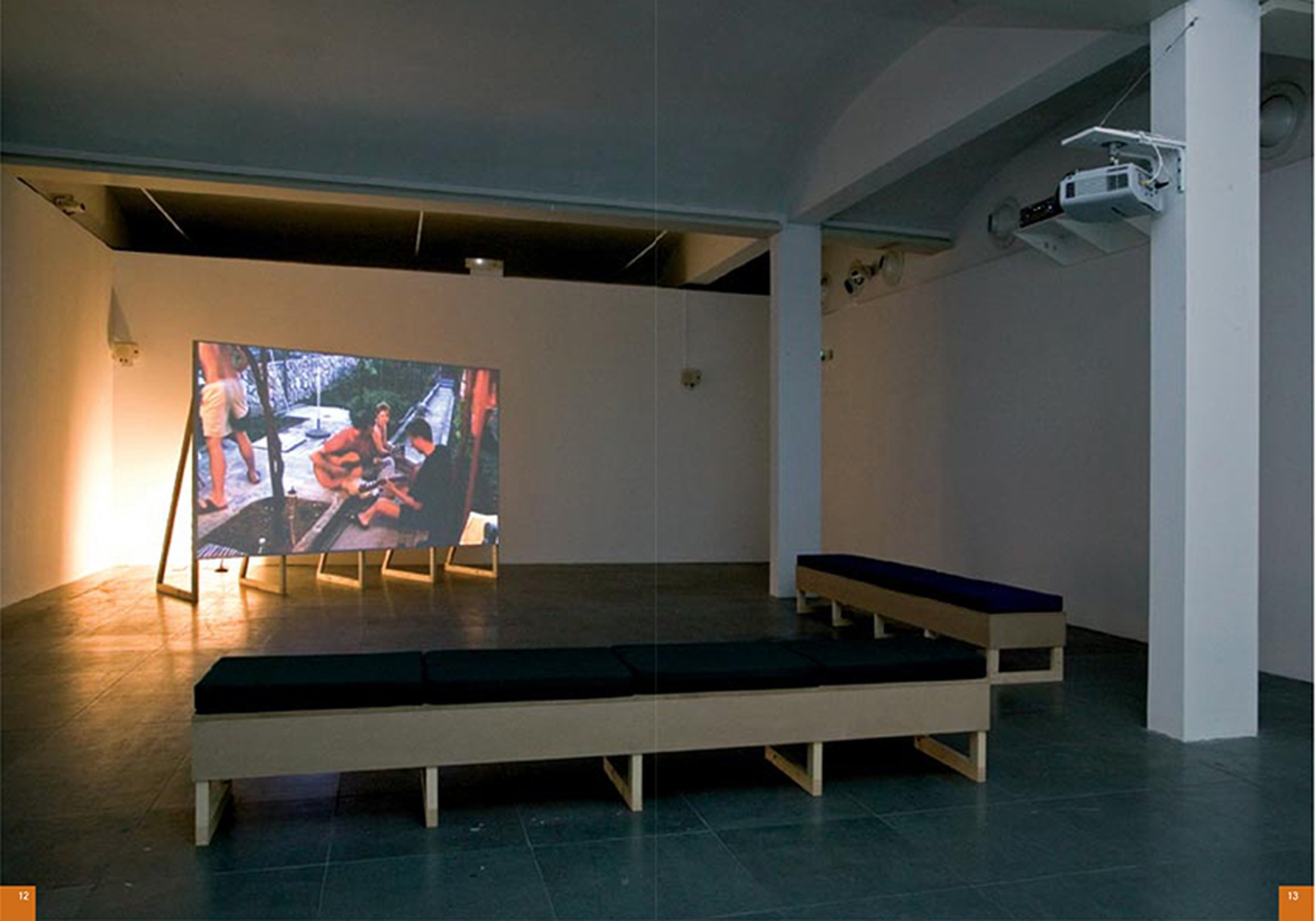 Another Album, 2006, HD, 28'12'', loop, installation view, Caixa Forum, Barcelona, 2007