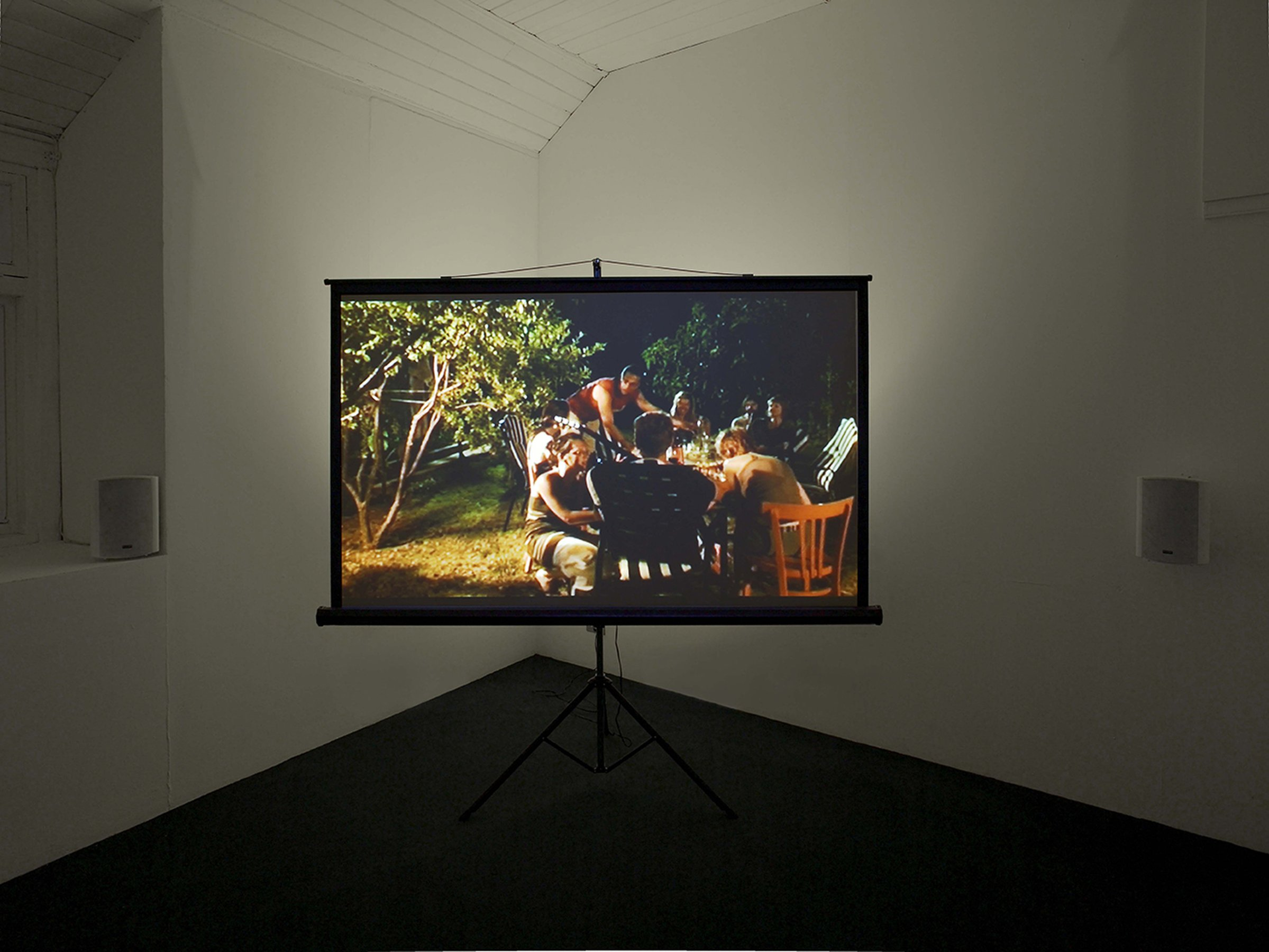 Another Album, 2006, HD, 28'12'', loop, installation view, Modern Art Oxford, 2010
