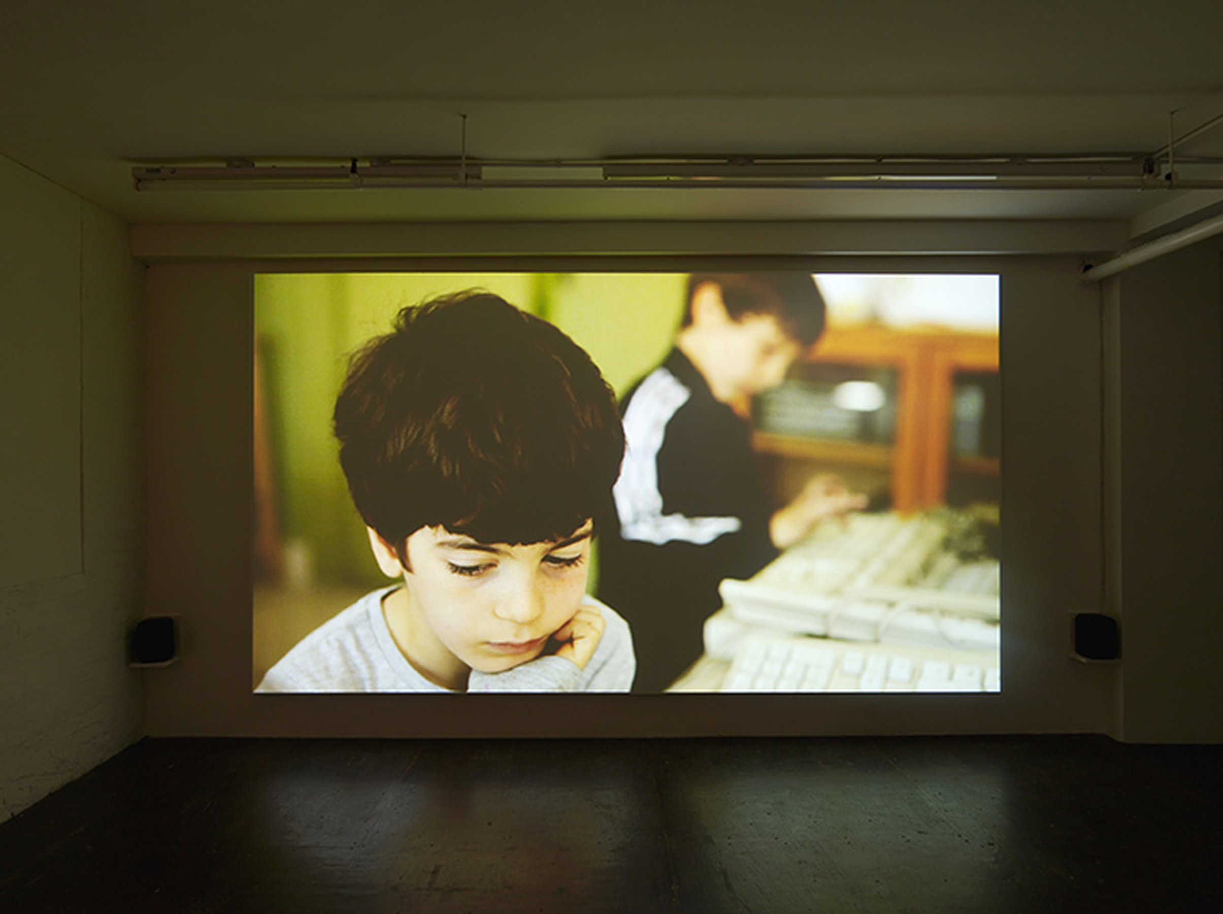I'm Gonna Live Anyhow Until I die, 2012, HD, 16'29'', loop,  installation view, Hollybush Gardens, London, ph. by Andy Keate