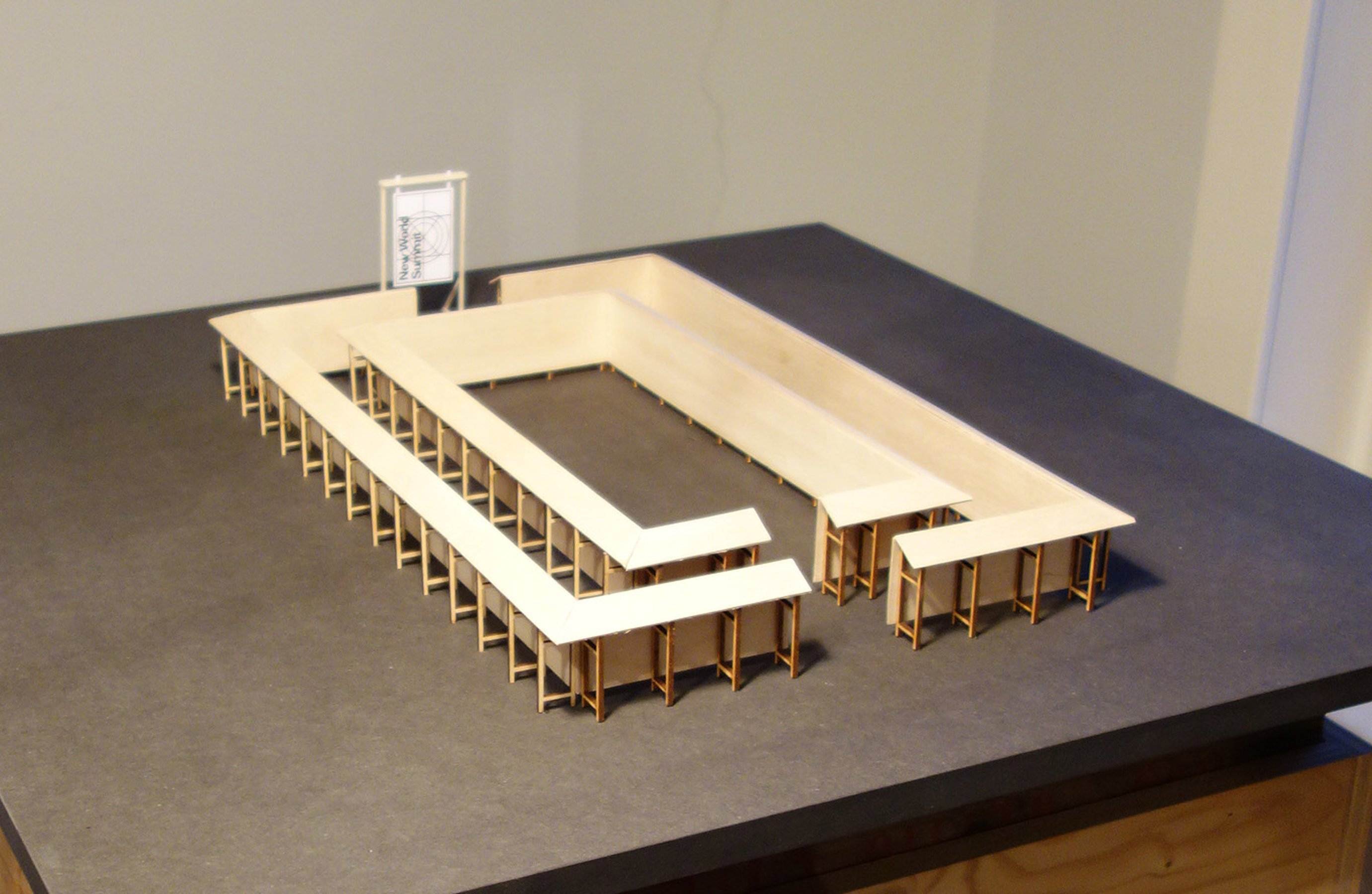 New World Summit - Leiden (architectural model)
