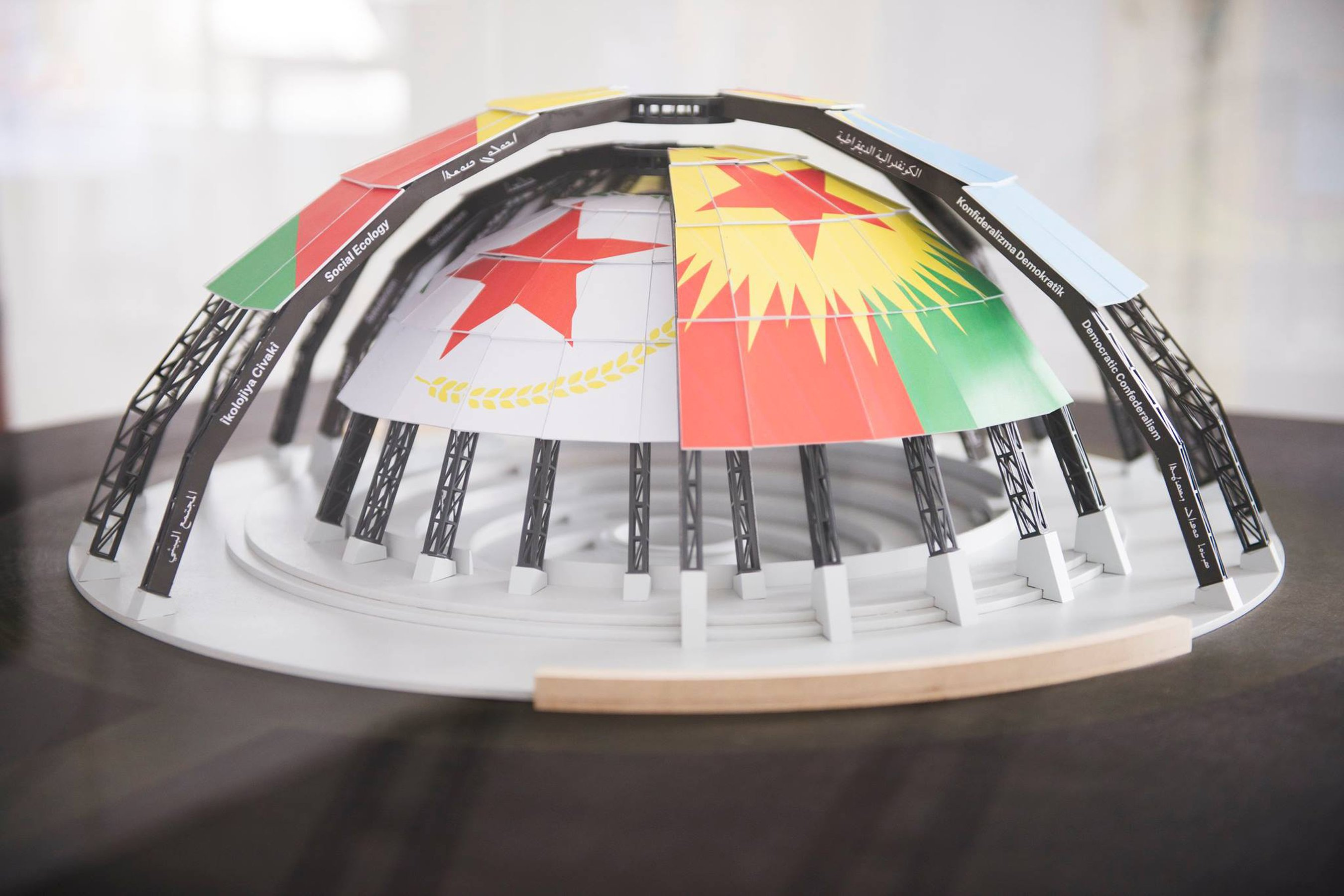 New World Summit – Rojava (architectural model)