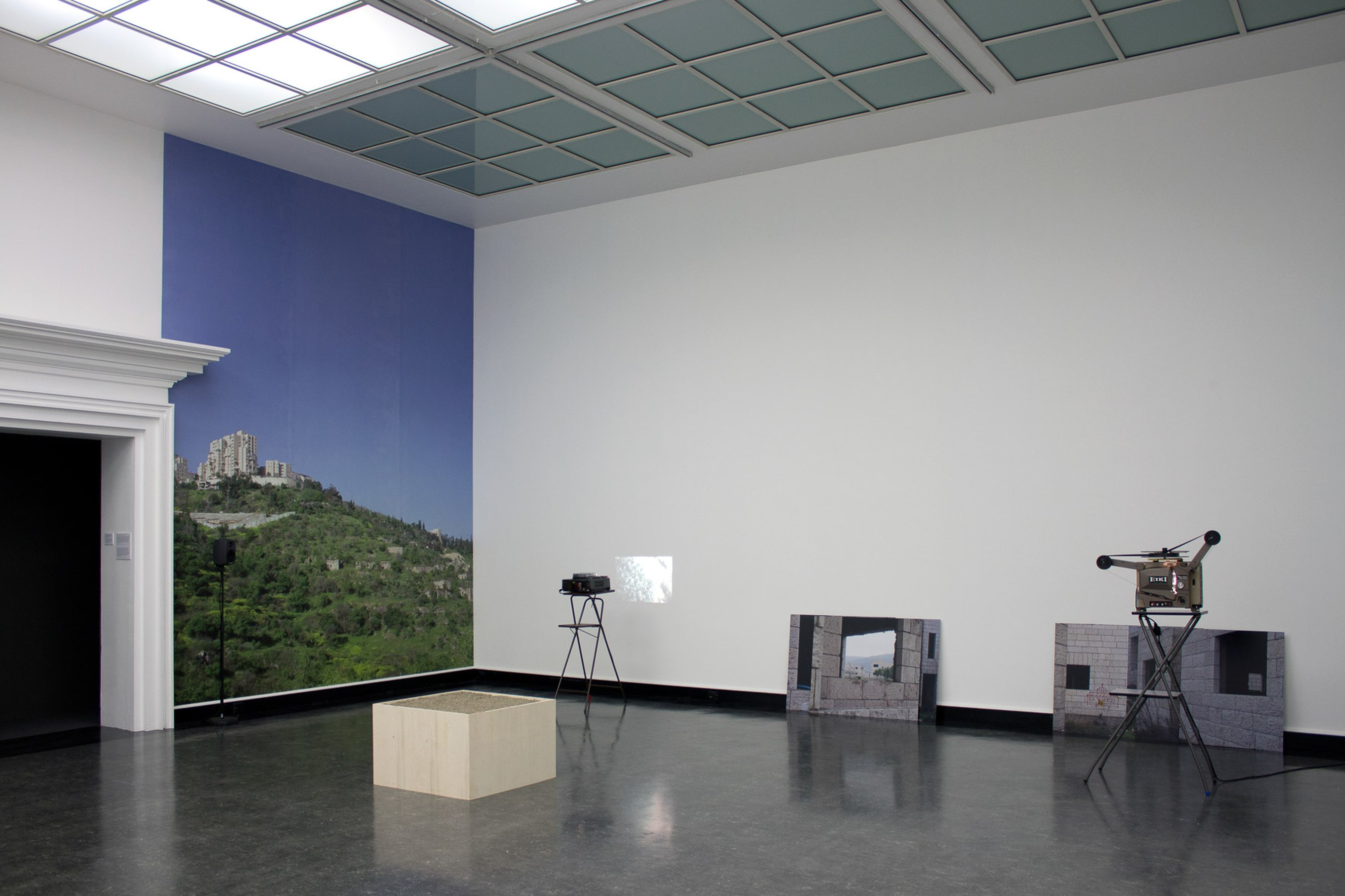 Unmade Film - The Reconnaissance, 2012 - 2013 installation view