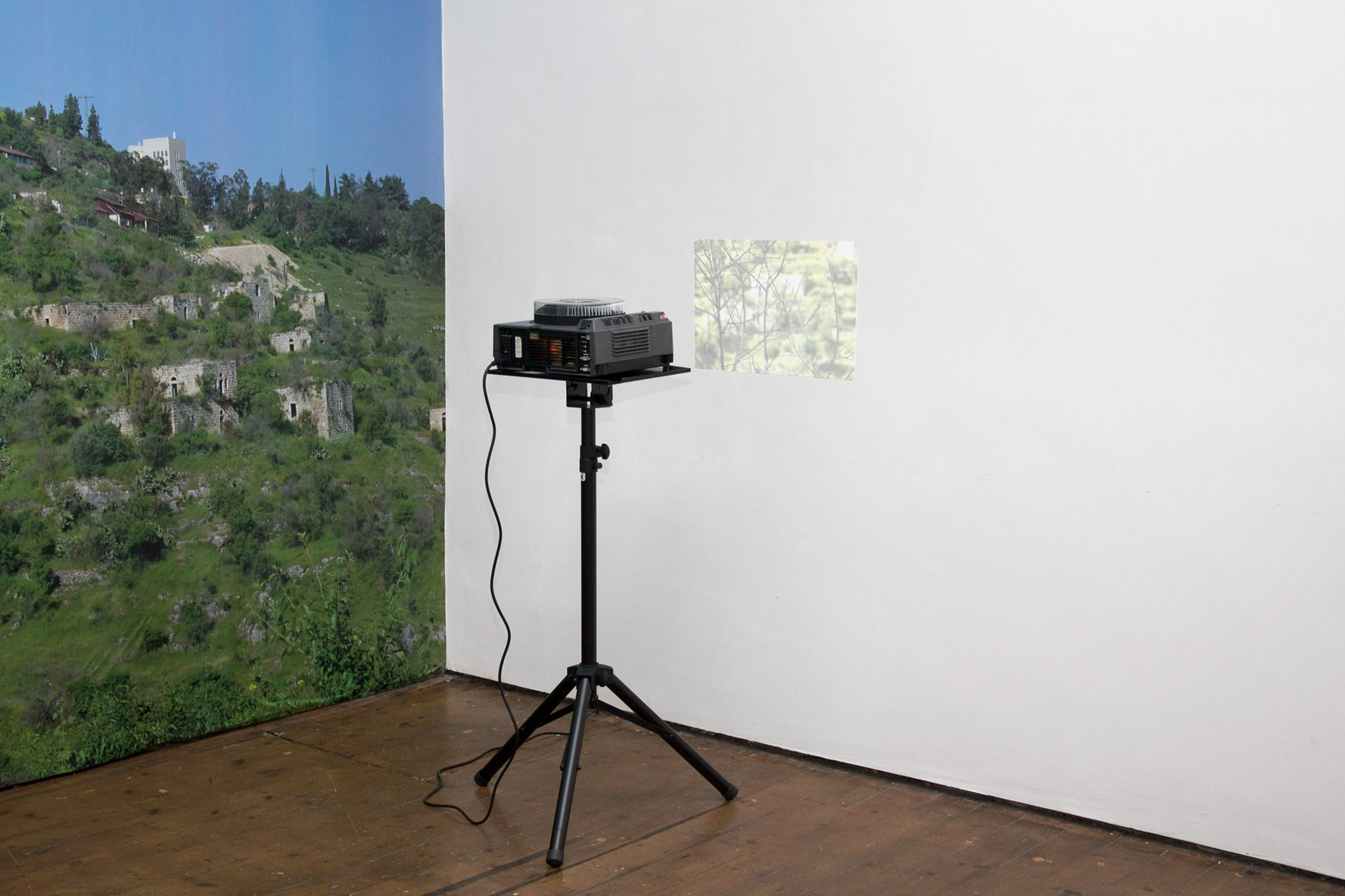 Unmade Film - The Reconnaissance, 2012 - 2013, installation view