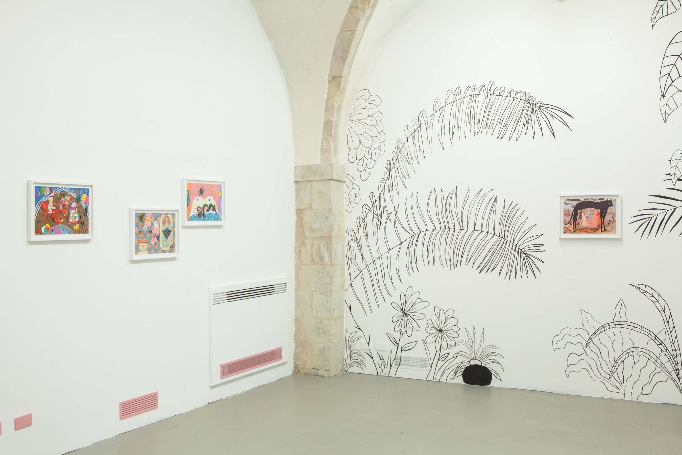 Alejandra Hernández Keep My Treasures Where I Can See Them installation view at Laveronica arte contemporanea, 2014  Ph: Francesco D'Amore