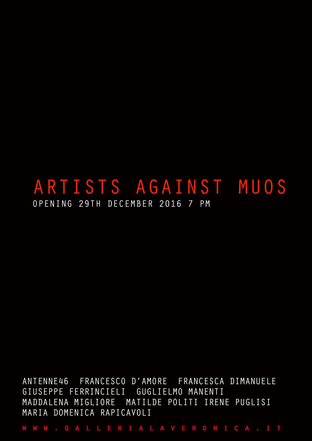 Artists Against MUOS