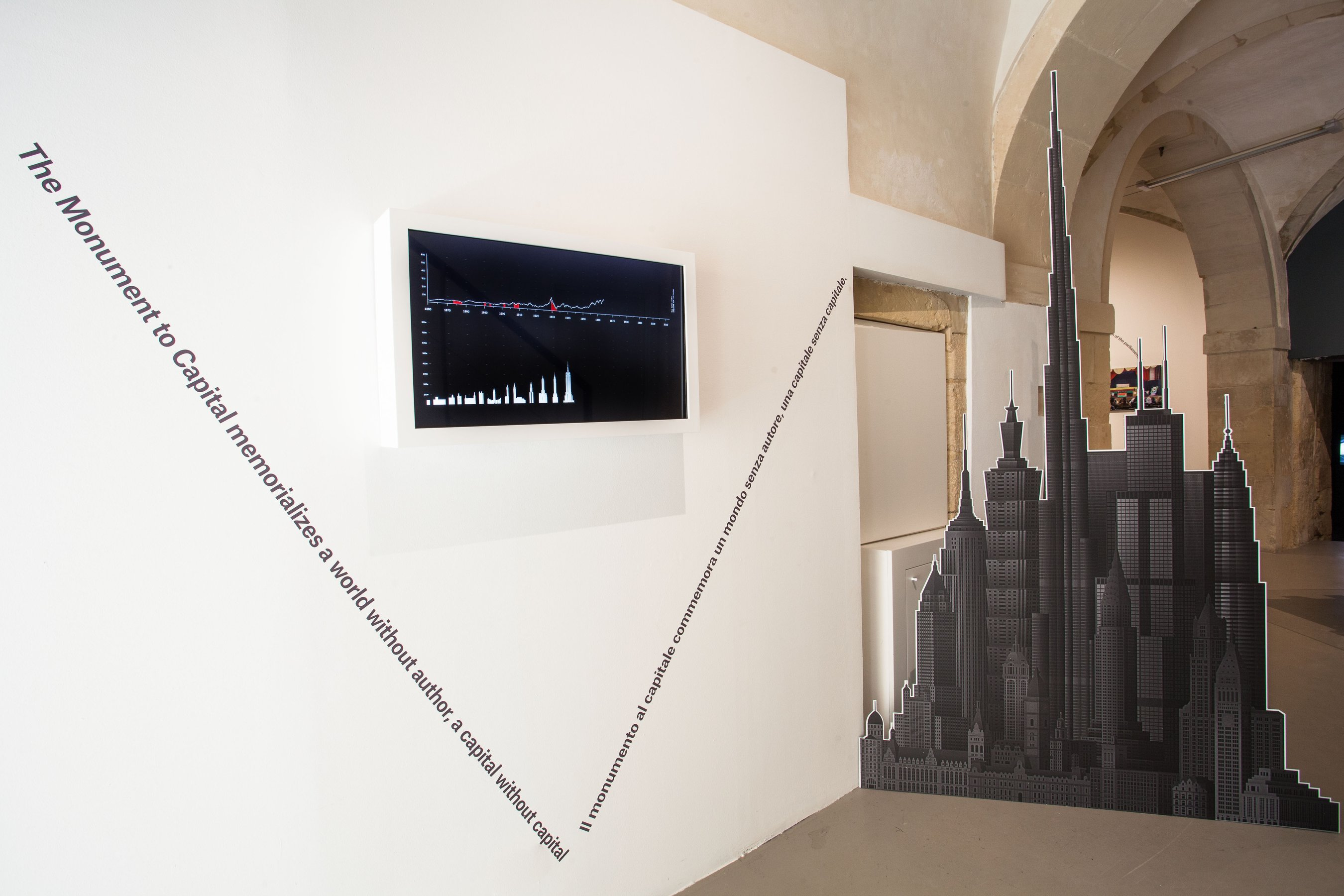 Propagandas, installation view
