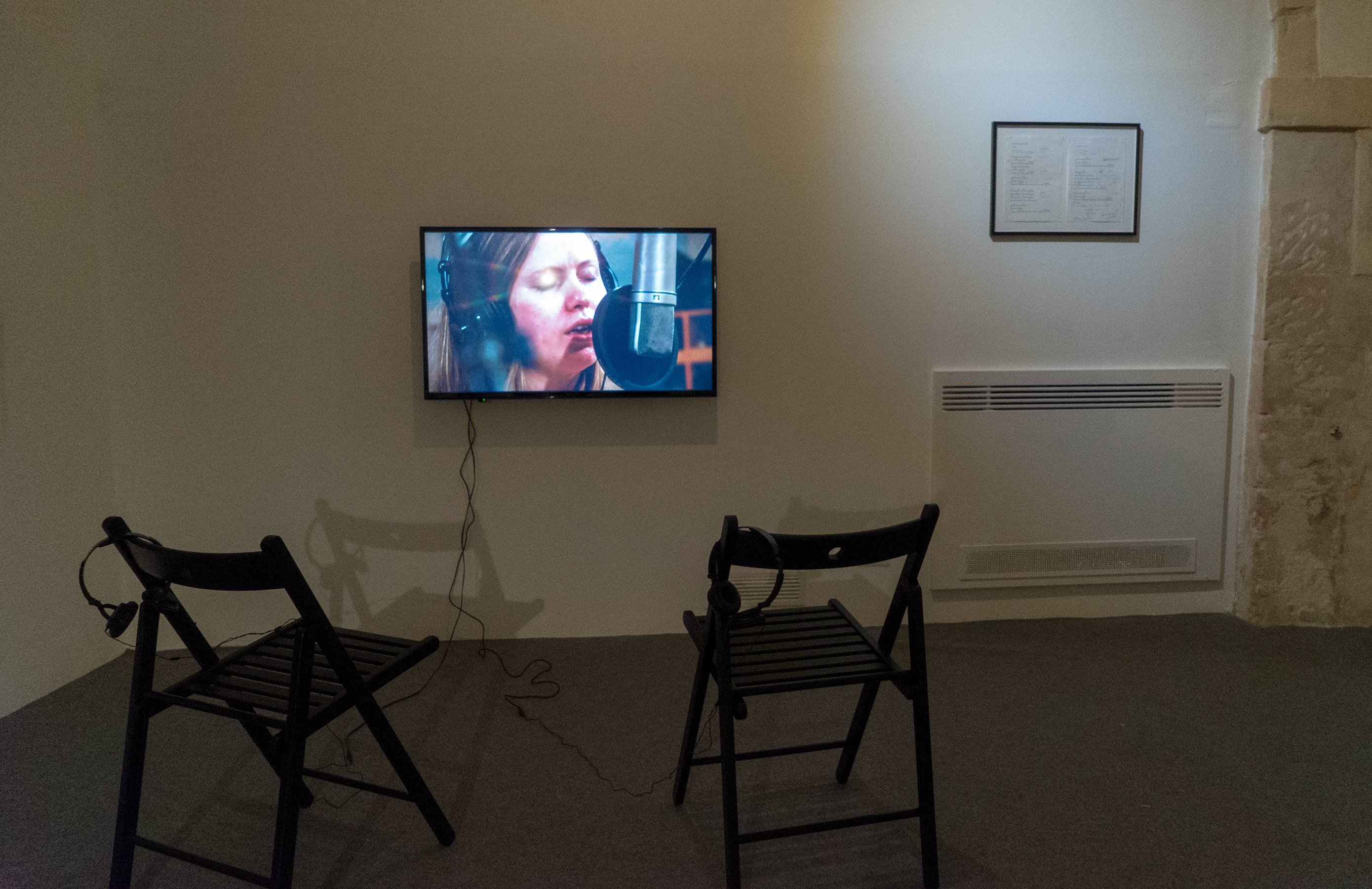 15 Years of You Don't Love me Yet 2002-2017, installation view at Laveronica arte contemporanea